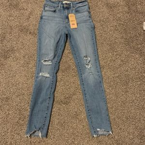 Levi's high rise skinny jeans, NWT